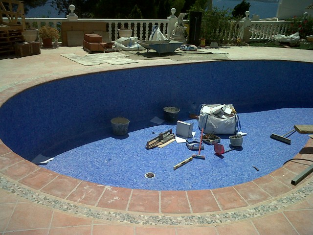 Swimming Pool Repair Moraira, Spain | M3BT Building Technology